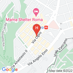 Map AI MUSEI VATICANI BB