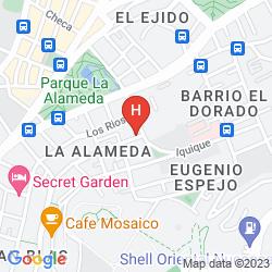 Map LUGANO SUITES