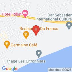 Map LES CITRONNIERS