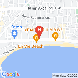 Map ALANYA BUYUK HOTEL