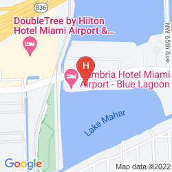 Map SPRINGHILL SUITES MIAMI AIRPORT SOUTH