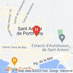 Map HOSTAL RESIDENCIA RITA