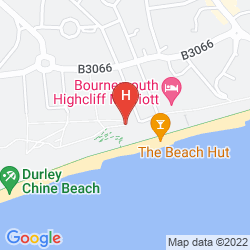 Map BOURNEMOUTH HIGHCLIFF MARRIOTT