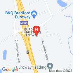 Map CAMPANILE HOTEL BRADFORD