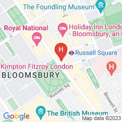 Map KIMPTON FITZROY LONDON
