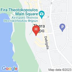 Map ADAMIS MAJESTY SUITES