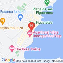 Map APARTAMENTOS MIRA MOLA