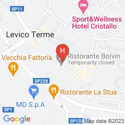 Map HOTEL ROMANDA