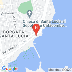 Map MUSCIARA SIRACUSA RESORT