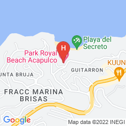 Map PARK ROYAL ACAPULCO ALL INCLUSIVE