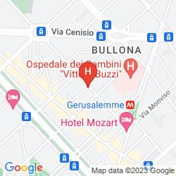 Map UNA HOTEL SCANDINAVIA