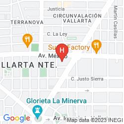 Map QUINTA REAL GUADALAJARA