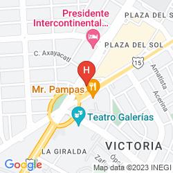 Map STAYBRIDGE SUITES GUADALAJARA EXPO