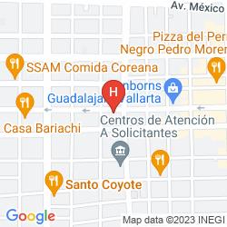 Map SUITES BERNINI