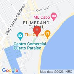Map BAHIA HOTEL & BEACH CLUB