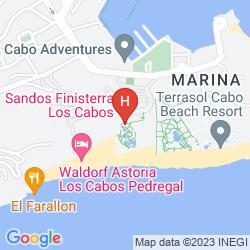 Map SANDOS FINISTERRA LOS CABOS ALL INCLUSIVE RESORT