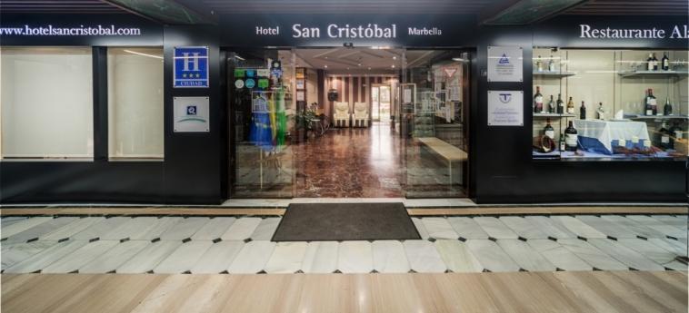 Hotel San Cristobal: Entrée MARBELLA - COSTA DEL SOL