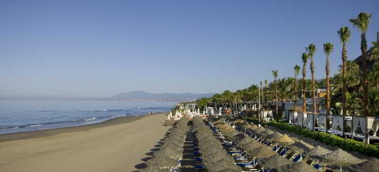 Hotel Don Carlos Leisure Resort & Spa: Plage MARBELLA - COSTA DEL SOL