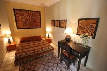 Hotel Riad Sable Chaud: Chambre MARRAKECH