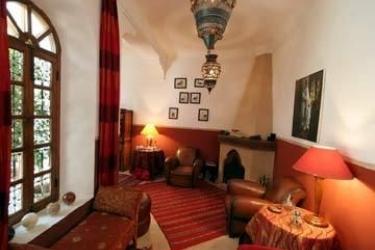 Hotel Riad Sable Chaud: Lounge Bar MARRAKECH