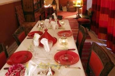 Hotel Riad Sable Chaud: Restaurant MARRAKECH