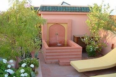 Hotel Riad Sable Chaud: Terrasse MARRAKECH