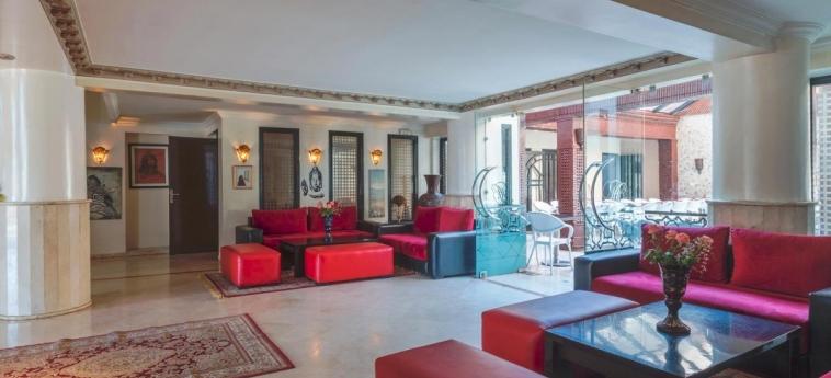 Hotel Corail: Lobby MARRAKECH