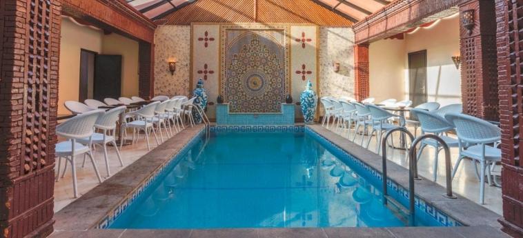 Hotel Corail: Piscine Couverte MARRAKECH