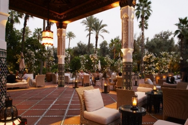 Hotel La Mamounia: Bar MARRAKECH