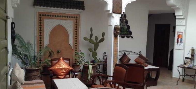 Hotel Dar Zemrane: Lobby MARRAKESCH