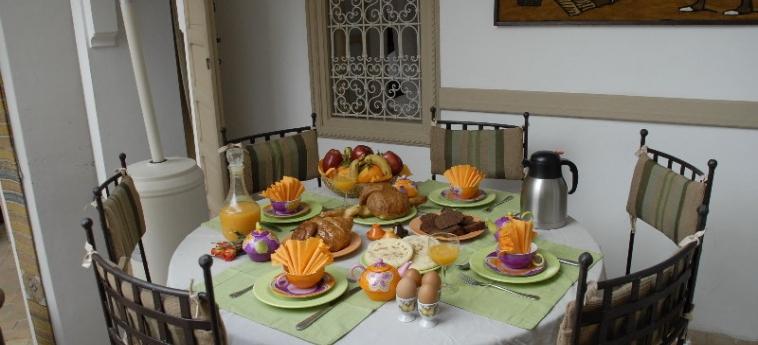 Hotel Dar Zemrane: Restaurant MARRAKESCH