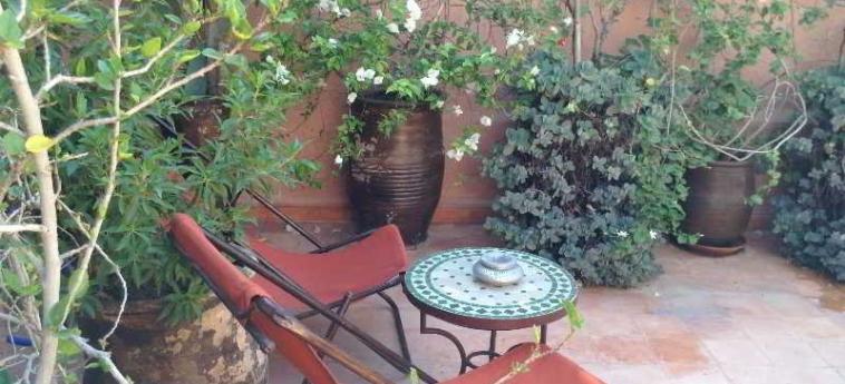 Hotel Dar Zemrane: Terrasse MARRAKESCH