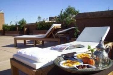 Hotel Al Ksar Riad And Spa: Terrasse MARRAKESCH