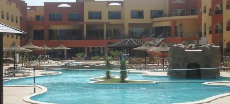 Hotel Moon Resort Marsa Alam: Patio MARSA ALAM