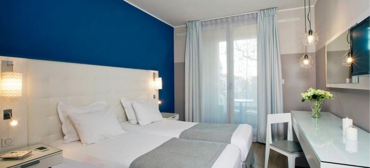Hotel Residhome Saint-Charles: Chambre jumeau MARSEILLE