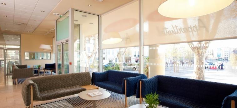 Hotel Residhome Saint-Charles: Lobby MARSEILLE