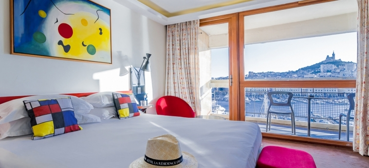 Hotel La Residence Du Vieux Port: Camera Matrimoniale/Doppia MARSIGLIA