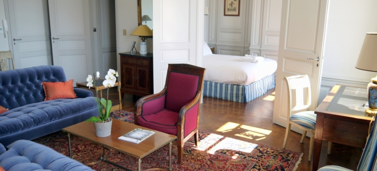 Hotel La Residence Du Vieux Port: Salotto MARSIGLIA