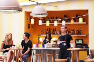 Hotel Mama Shelter Marseille: Scalinata MARSIGLIA