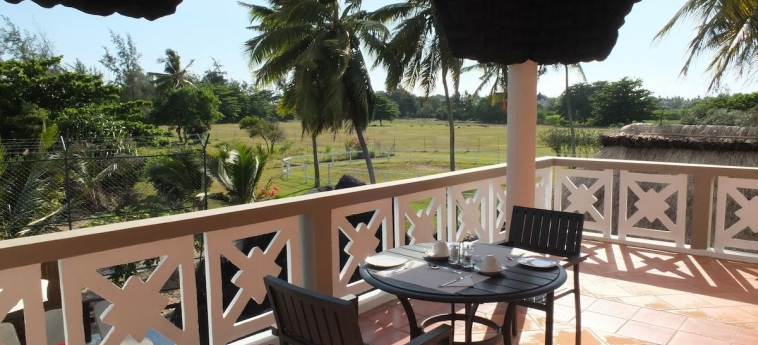Hotel Eden Villa: Terrasse MAURITIUS