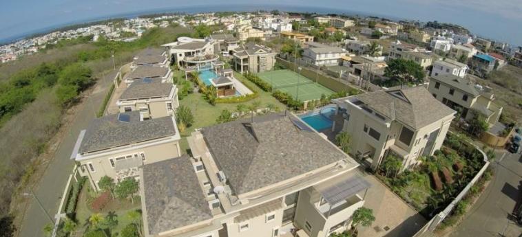 Hotel Villasun Resort: Aerial View MAURITIUS