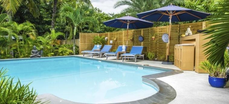 Bleu De Toi - Boutique Guest House: Außenschwimmbad MAURITIUS