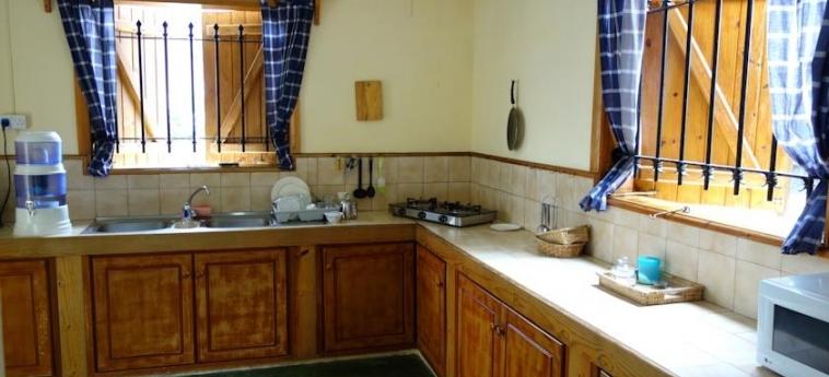 Hotel Auberge St Francois: Küche MAURITIUS