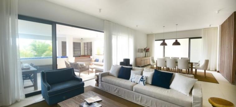 Hotel Ao Luxury Residences By Barnes: Living Room MAURITIUS