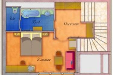 Hotel Rose: Chambre jumeau MAYRHOFEN