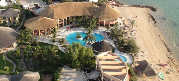 Hotel Club Royal Saly: Freitreppe MBOUR