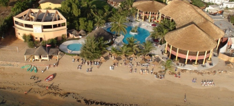 Hotel Club Royal Saly: Hotellage MBOUR