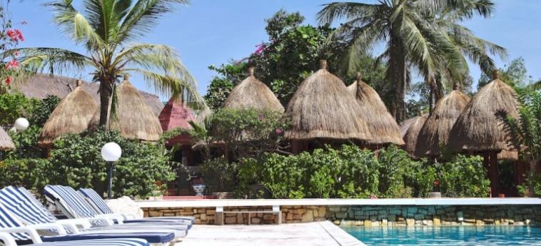 Hotel Les Bougainvillees Saly Senegal: Apartamento de dos piezas MBOUR