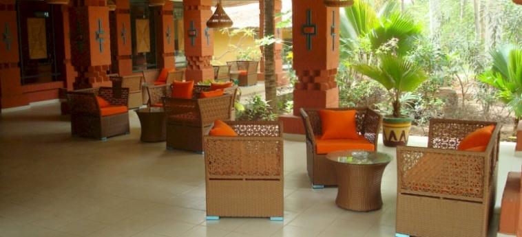 Hotel Les Bougainvillees Saly Senegal: Apartamento Sirene MBOUR