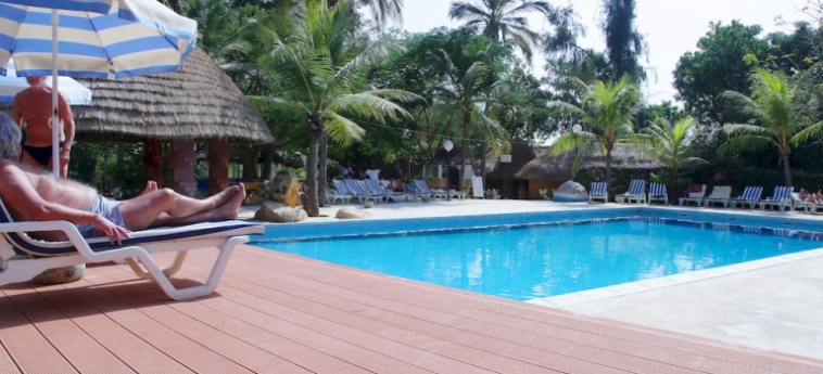 Hotel Les Bougainvillees Saly Senegal: Camera Matrimoniale Club MBOUR